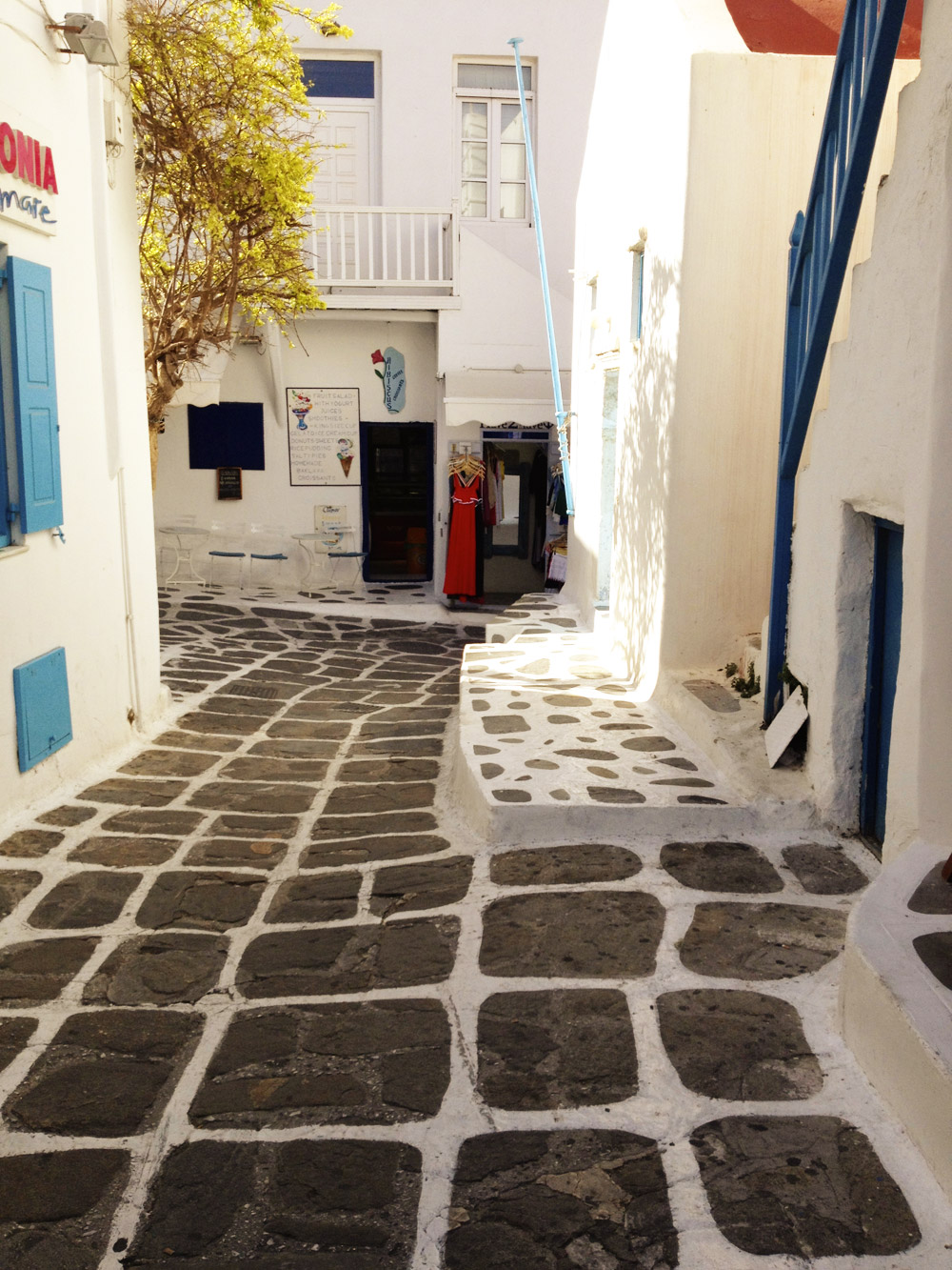 Lost in Mykonos Greece