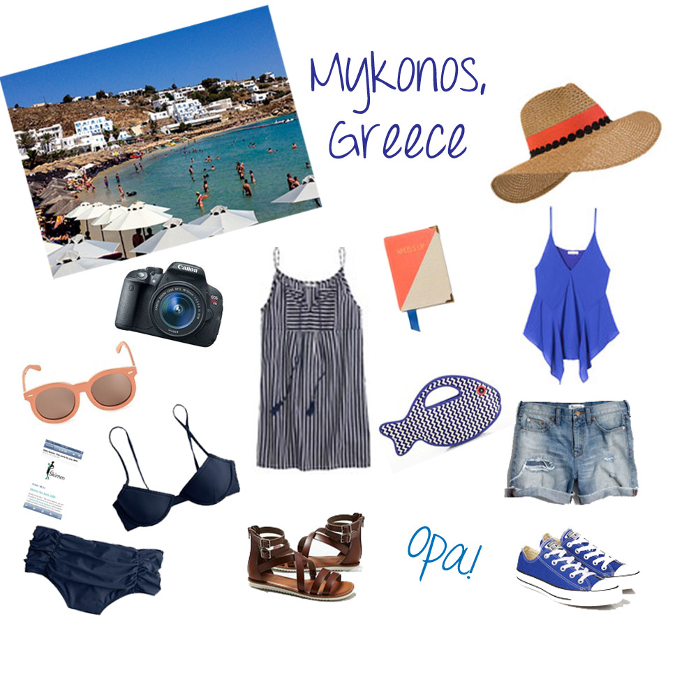 What to Pack Mykonos Greece
