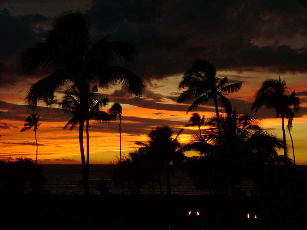 Hawaii Sunset Oahu Hawaii