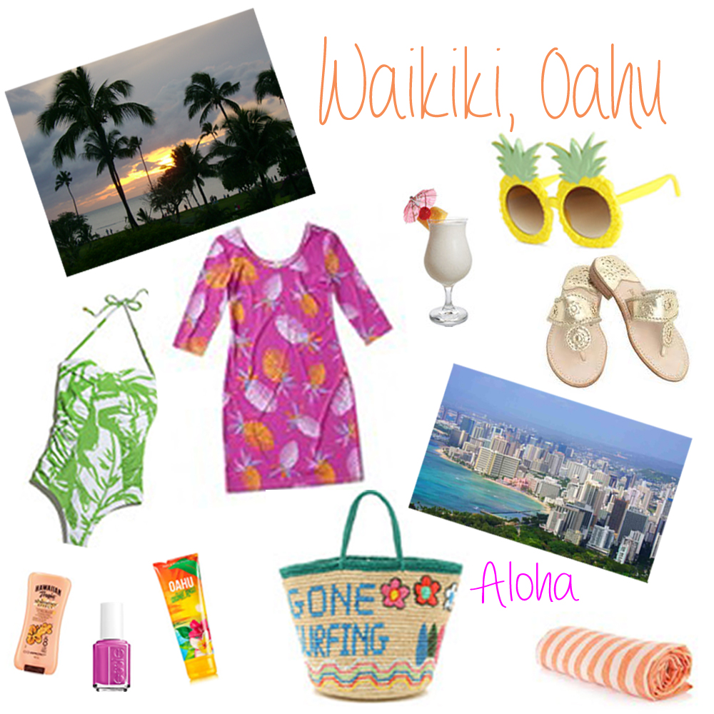 What to Pack Waikiki Oahu Hawaii Honolulu