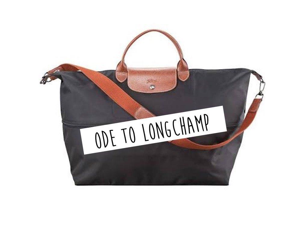 Ode to Longchamp bag