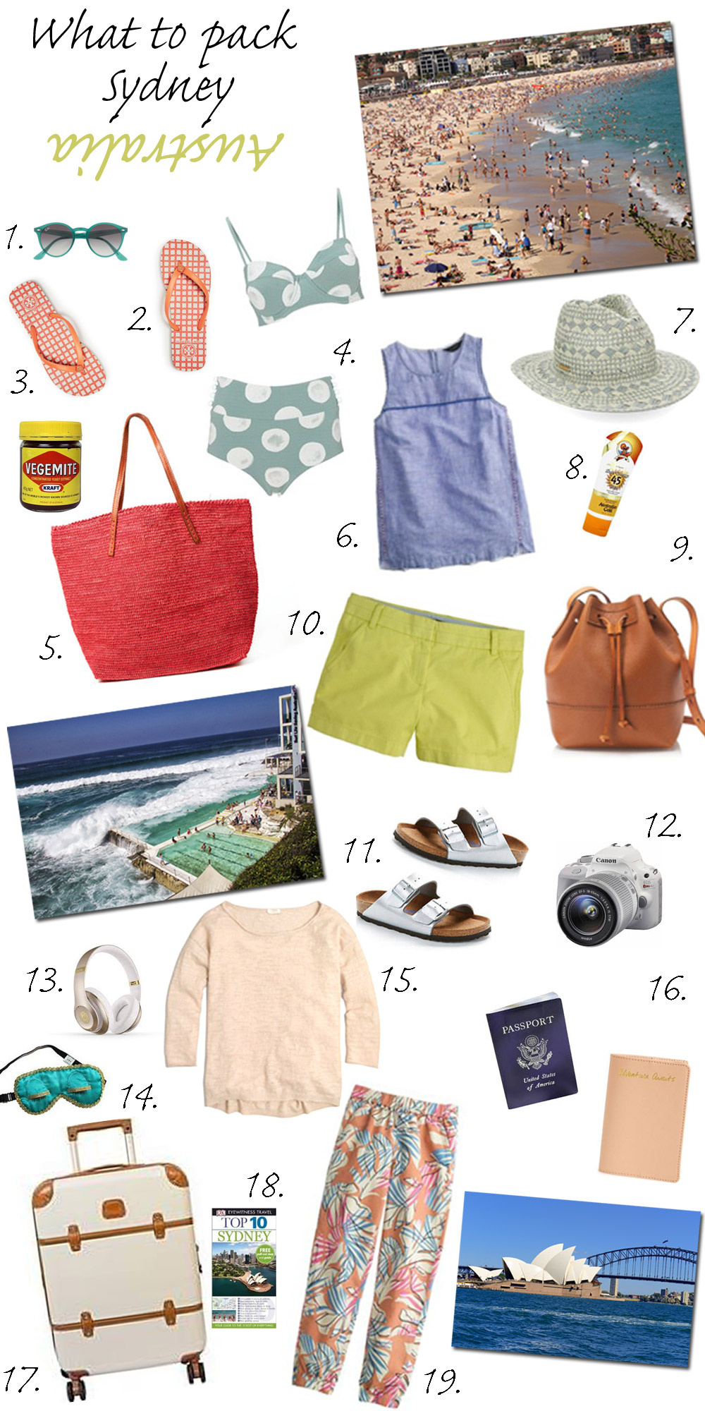What to Pack for Sydney