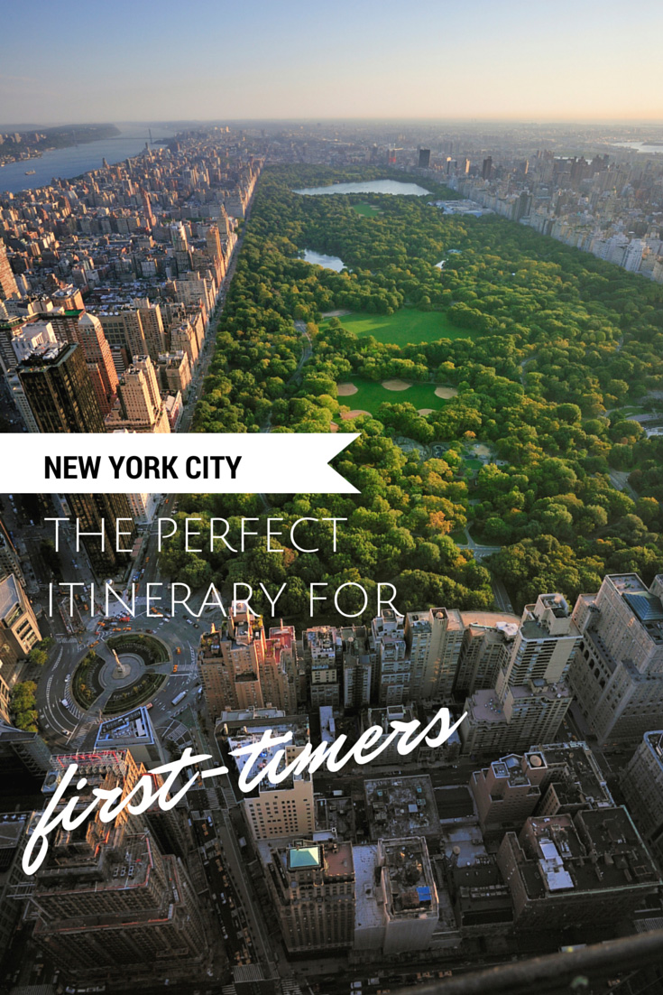 New york city the perfect itinerary for first timers for Things to see and do in nyc