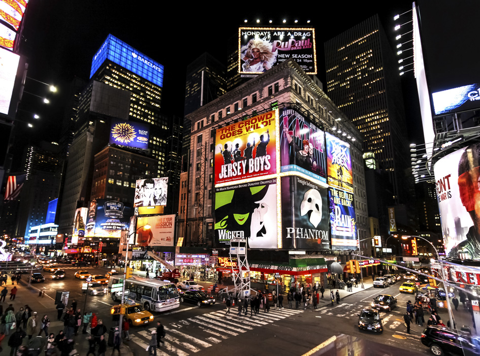 New york city the perfect itinerary for first timers for Best places to go in nyc at night