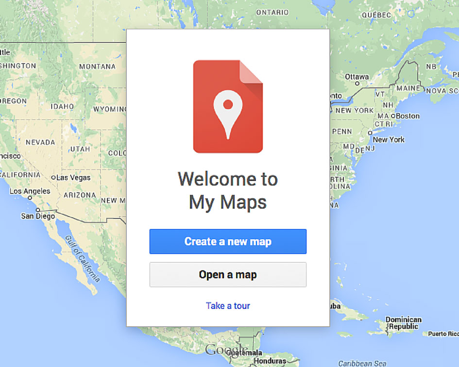 Map New York Offline.How To Create A Custom Google Maps Itinerary Use It Offline