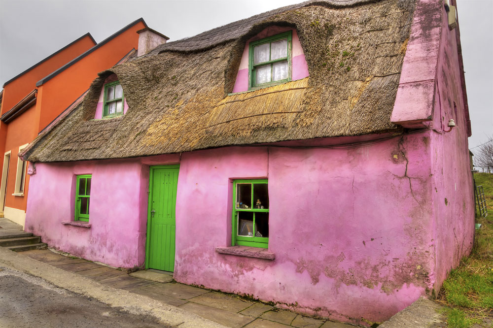 Ireland-Pink-House